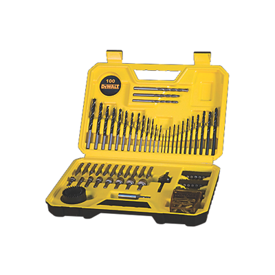 Dewalt 100 pc Drill Bit Set