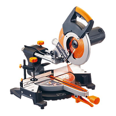 Evolution 255mm Sliding Compound Mitre Saw