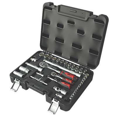 Forge Steel Mixed Socket Set