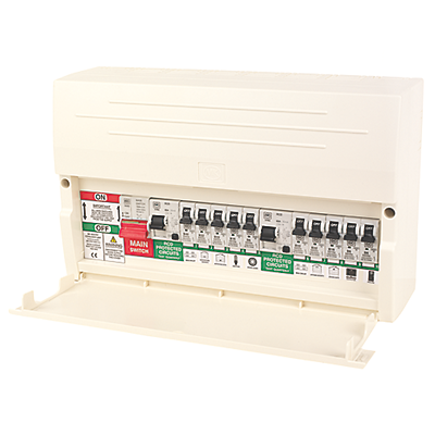 MK 10-way Dual RCD Unit